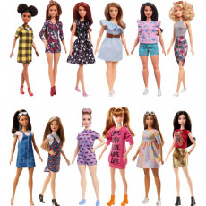 Mattel Barbie FBR37 Papusa Barbie seria FASHIONISTAS