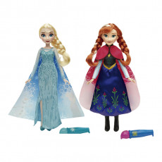 "Hasbro Disney Frozen B6699 Papusa Regatul De Gheata Elsa / Anna ""COLOR CHANGE FASHION"""