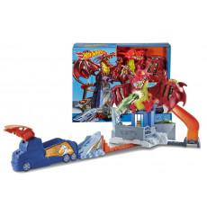 "Mattel Hot Wheels DWL04 Pista  ""Atacul Dragonului"""