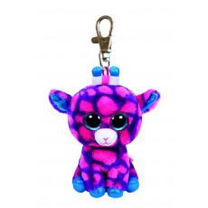 """Ty TY36639 Jucarie de Plus-Breloc """"Girafa roz"""" 8,5 cm"""