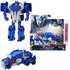Hasbro Transformers C0884 FIGURINA TRANSFORMERS THE LAST KNIGHT 1-STEP TURBO CHANGER