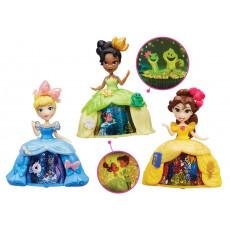 Hasbro Disney Princess B8962 Mini papusa cu rochie magica