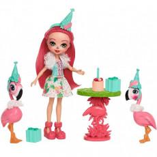 Mattel Enchantimals FCC62 Papusa Enchantimals cu animaluti de companie si seturi tematice