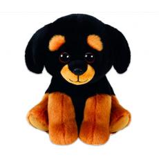 TY TY42250  Jucarie de Plus TREVOUR - Rottweiler, 15 cm