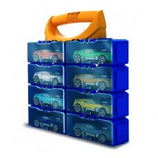 Mattel Hot Wheels HWCC8A Container compact pentru stocarea a 8 mașini clasice