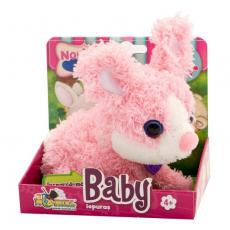Noriel INT3603 Jucarie de plus interactiva Pets Baby - Iepuras
