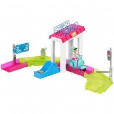 """Mattel Barbie FHV85 Set de joaca Barbie pe scuter seria """"On the Go"""""""