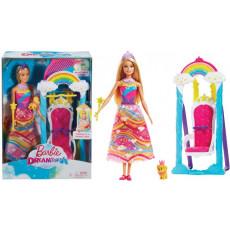 """Mattel Barbie FJD06 Barbie set Leagan cu papusa """"Dreamtopia"""""""