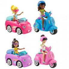 Mattel Barbie FHV76 Set de joc Babie papusa cu vehicol seria On the Go