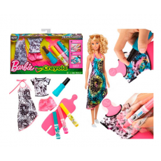 Mattel Barbie Crayola FPW12 Set de haine Barbie CRAYOLA  haine care se pot colora