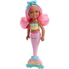 Mattel Barbie FKN03 Barbie Dreamtopia mini papusa sirena, 15 cm