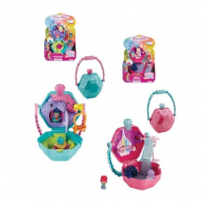 Mattel FHN35 Set set Shimmer și Shain serie Teenie Genie On the Go