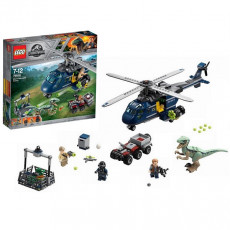 Lego Jurassic World 75928 Urmarirea elicopterului albastru