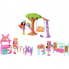 "Mattel Enchantimals FRH44 Set de joc  ""Întotdeauna împreună"""