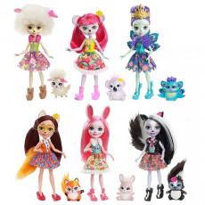Mattel Enchantimals DVH87 Papusa fermecatoare cu animalul de companie
