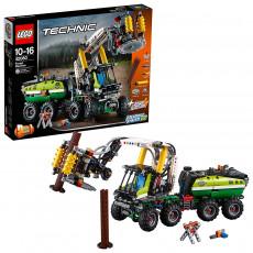 Lego Technic 42080 Masina forestiera, 2-in-1