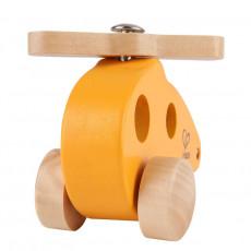 "Hape E0051A  Jucărie din lemn ""Elicopter mic"""