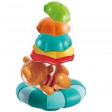 """Hape E0203A Jucarie pentru baie """"Teddy si umbrelele colorate"""""""