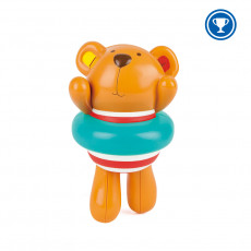 "Hape E0204A  Jucarie pentru baie ""Teddy inotatorul vesel"""