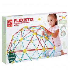 Hape E5564A Jucărie din lemn Set de construcții. Arhitectură creativă, puzzle-uri cosmice