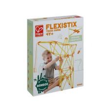 Hape E5562A Jucărie din lemn Flexistix - Set de construcție. Constructor: Macara pentru constructii