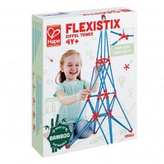 Hape E5563A Jucărie din lemn Flexistix - Set de construcție. Constructor: Turnul lui Eiffel