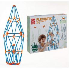 Hape E5566A Jucărie din lemn Flexistix - Set de construcție. Constructor: Multi turnuri