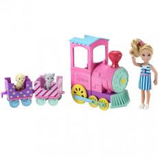 Mattel Barbie FRL86 Set de joaca Barbie Chelsea Trenuletul Choo Choo