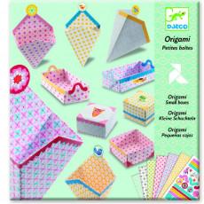 Djeco DJ08774 Set pentru creativitate Origami - Set de confectionat cutii