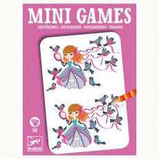 """Djeco DJ05307 Joc de societate. Mini joc """"Găsește diferențele"""". MiniGames. Differenees"""