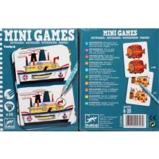 """Djeco DJ05306 Joc de societate. Mini joc """"Găsește diferențele Remi"""". MiniGames. Differenees"""