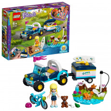 Lego Friends 41364 Vehiculul cu remorca al Stephaniei