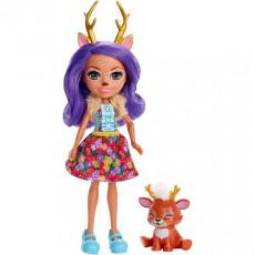 Mattel Enchantimals FXM75 Papusa figurina de joacă Danessa Deer new, 15 cm