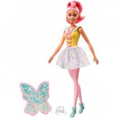 "Mattel Barbie  FXT03 Papusa Barbie ""Zana de la Dreamtopia"""