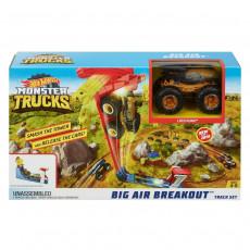 Mattel Hot Wheels GCG00 Set de joaca Mattel Hot Wheels Monster Truck cu Pista Big Air Breakout