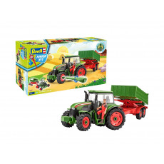 """Revell Junior Kit 817 Set de joaca """"Tractor and Trailer with Figure"""""""