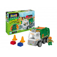 "Revell Control Junior 23015 Masina de gunoi cu telecomanda ""Junior Garbage Truck"""