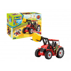 """Revell Junior Kit 815 Tractor cu figurină si incarcator """"Tractor with Loader and Figure"""""""