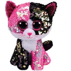 TY TY36430 Flippables Jucarie de plus Pisica MALIBU 24 cm