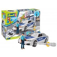 """Revell Junior Kit 820 Masina de politie cu figurina """"Police Car with Figure"""""""