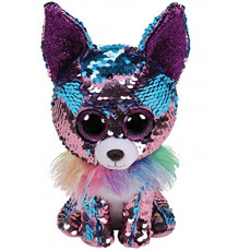 TY TY36268 Flippables Jucarie de plus Chihuahua YAPPY  15 cm