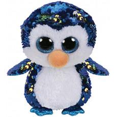 TY TY36264 Flippables Jucarie de plus Penguin PAYTON 15 cm