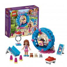 Lego Friends 41383 Mini-platformă de joc pentru hamsterul lui Olivia