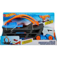 """Mattel Hot Wheels GCK38 Set de joaca Camion transformer """"Track builder"""""""