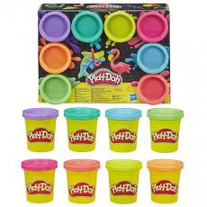 Hasbro Play Doh E5044 Set de plastilina 8 culori Curcubeu