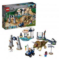 Lego Jurassic World 75937 Triceratops dezlantuit