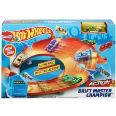 Mattel Hot Wheels GBF81 Set de joaca Pista Drift Master Champion