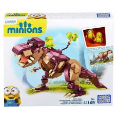 Mattel Mega Bloks CPC51 Constructor Minionii care călătoresc pe un dinozaur