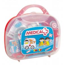 SMOBY 340100 Trusă medicală Smoby cu accesorii