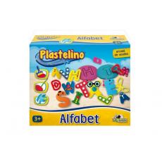 Noriel INT6703 Set de modelare Plastelino - Alfabet din plastilina